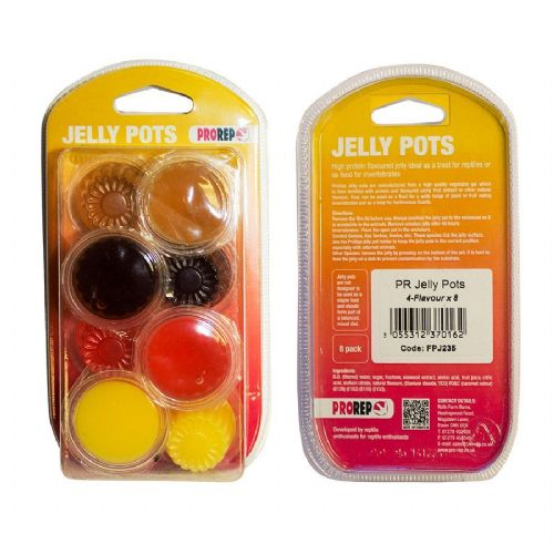 PR Jelly Pots, 17g Mix 4-flavours 8-pk Blister